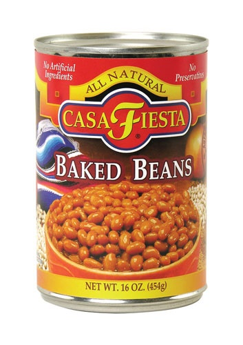 Picture of Casa Fiesta Baked Beans 16 oz - Item No. 17600-08817