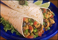 Picture of Chicken and Salsa Wraps Recipe - Item No. 177-chicken-and-salsa-wraps