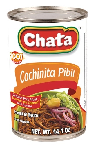 Picture of Chata Cochinita Pibil 14.1 oz&nbsp;- Item No.&nbsp;1810