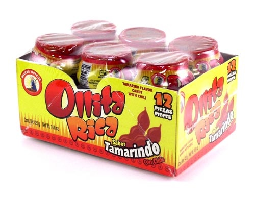Picture of Ollita Rica Sabor Tamarindo (14.8 oz) 12 pieces&nbsp;- Item No.&nbsp;18122-09241