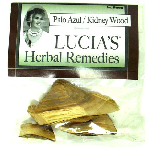 Picture of Lucia's Herbal Remedies Palo Azul / Kidney Wood 1 oz - Item No. 18122-73727