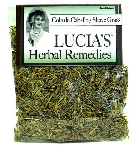 Picture of Lucia's Herbal Remedies Cola de Caballo / Horsetail / Shave Grass 1 oz - Item No. 18122-73737