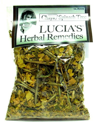 Picture of Lucia's Herbal Remedies Chaya / Spinach Tree 1/4 oz- Item No.18122-73747