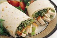 Picture of Chicken Burrito - Buffalo Burrito Grill Recipe - Item No. 186-buffalo-burritogrill