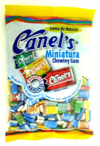 Picture of Canel's Miniature Chewing Gum Assorted Flavors 320 pieces - Item No. 18804-00314