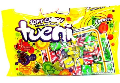 Picture of Canel's Tueni Soft Candy Fruit Chews Candy 14.1 oz&nbsp;- Item No.&nbsp;18804-05187