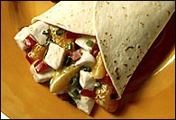Picture of Chicken Salad Wrap-Ups Recipe - Item No. 193-chickensaladwrapups