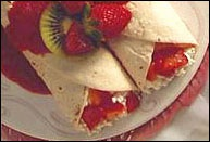 Picture of Strawberry Breakfast Crepes - Item No. 195-strawberrybreakfastcrepes