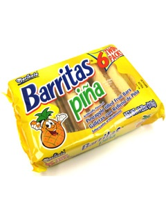 Picture of Marinela Barritas de Pina - Pineapple Filled Fruit Bars - 6 Twin Packs 11.22 oz - Item No. 19505