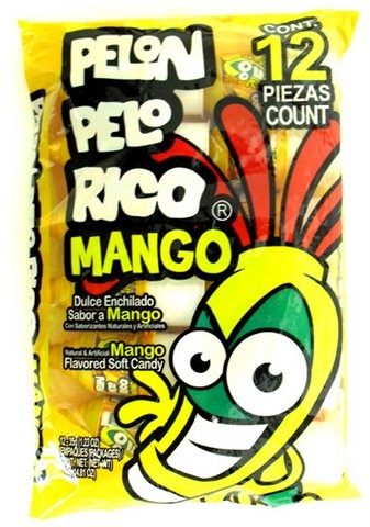 Picture of Pelon Pelo Rico Mango 12 pieces - Item No. 19886-15201
