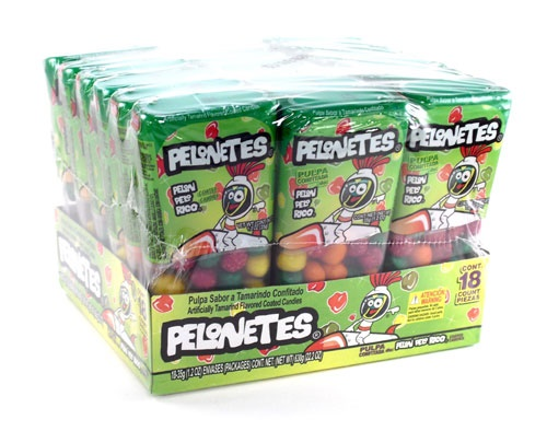 Picture of Pelonetes Tamarind Flavored Coated Candies 18 count&nbsp;- Item No.&nbsp;19886-40002