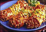 Picture of Quick Enchiladas Mexican Recipe - Item No. 210-quickenchiladas