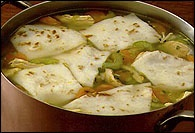 Picture of Tortilla Dumpling Soup - Item No. 225-tortilladumplingsoup