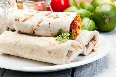 Picture of Wake Up Burrito with Sausage Recipe- Item No.237-wake-up-burrito-with-sausage