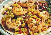 Picture of Tortilla Shrimp Grill - Item No. 24-tortilla-shrimp-grill