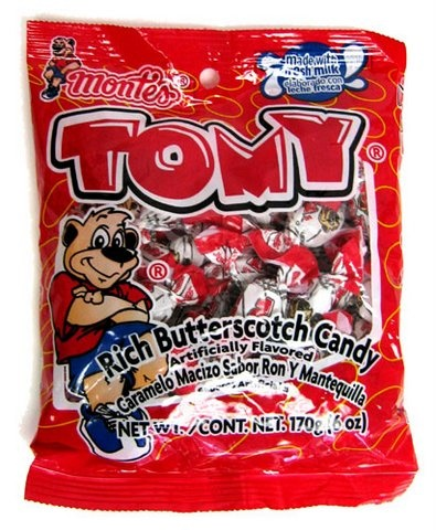 Picture of Montes Tomy Rich Butterscotch Hard Candy- Item No.24142-00222