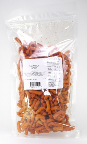 Picture of Churritos Spicy Corn Snacks by Premium Snacks &nbsp;- Item No.&nbsp;24212-82400