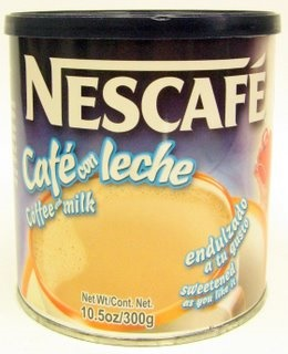 Picture of Cafe con Leche - Nescafe Caf� con Leche 10.5 oz - Item No. 2422