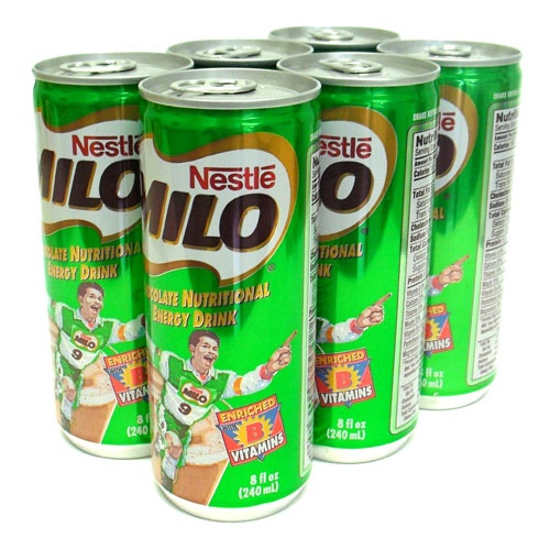 Picture of Nestle Milo Chocolate Energy Drink 8 oz - 6 pack&nbsp;- Item No.&nbsp;2425