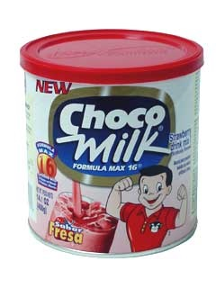 Picture of Choco Milk Strawberry Flavor 14.1 oz - Item No. 2427