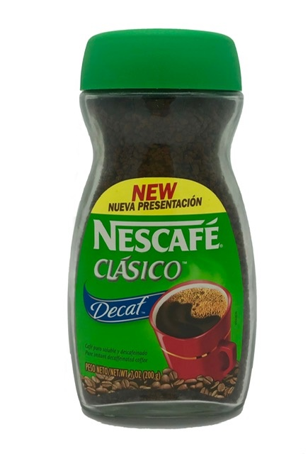Picture of Nescafe Clasico Decaf 7oz&nbsp;- Item No.&nbsp;2429