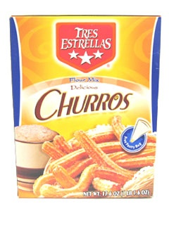 Picture of Churros - Tres Estrellas Churros Flour Mix 17.6 oz. - Item No. 2435