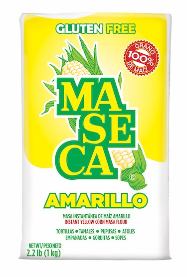 Picture of Maseca Yellow Corn Flour 2.2 LB - Item No. 2443