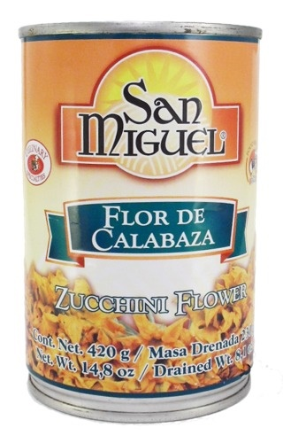 Picture of San Miguel Flor de Calabaza (Zucchini Flower)&nbsp;- Item No.&nbsp;24456-00802