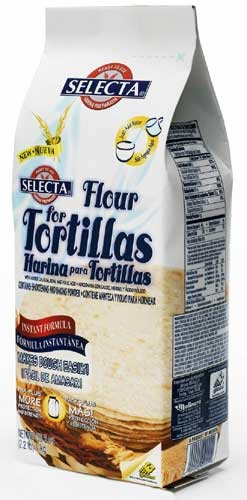 Picture of Selecta Flour for Tortillas de Harina 2.2 LB&nbsp;- Item No.&nbsp;2450