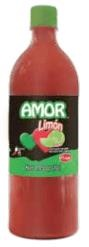 Picture of Salsas Castillo Amor hot sauce with lime- Medium 33oz- Item No.24836-05505