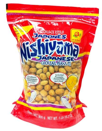 Picture of De la Rosa Nishiyama Japanese Coctail Peanuts 31.7 oz - Item No. 24869-00209