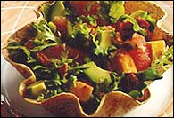 Picture of Sunburst Avocado Salad Recipe - Item No. 25-sunburst-avocado-salad
