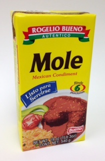 Picture of Rogelio Bueno Authentic Mole Ready to Serve - 19 oz - 5 Portions - Item No. 2503