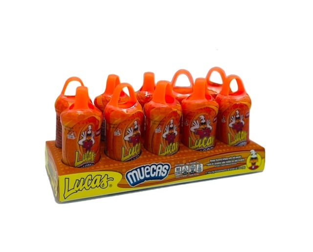 Picture of Lucas Muecas Lollipop with Chili Powder Mango 10 count&nbsp;- Item No.&nbsp;25181-42410