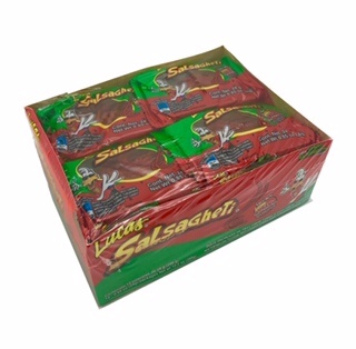 Picture of Lucas Salsagheti Gusanos Sandia - Hot Mexican Candy Straws - 12 units - Item No. 25181-73010