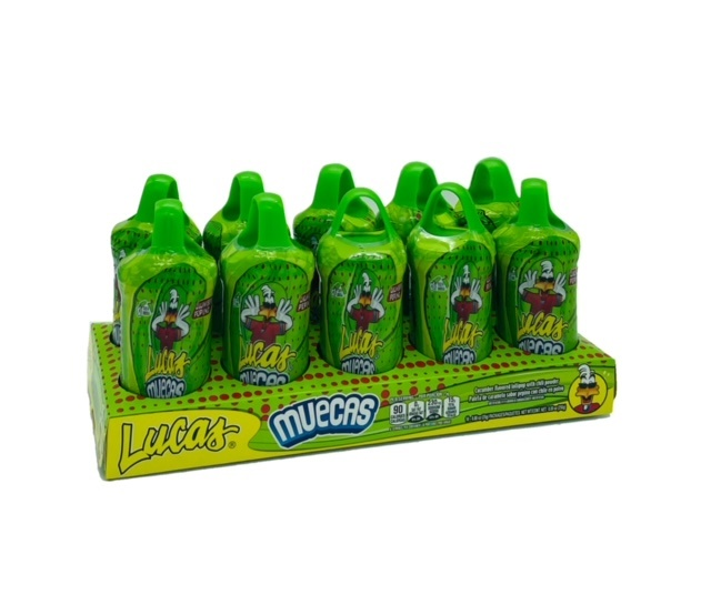 Picture of Lucas Muecas Lollipop with Chili Powder Pika Pepino 10 count - Item No. 25181-75098