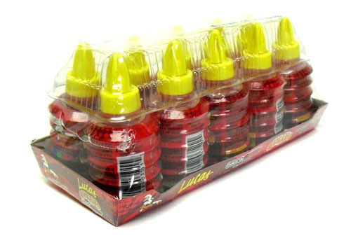 Picture of Lucas Gusano Dulce de Chamoy - Mexican Liquid Candy - 10 count - Item No. 25181-82010