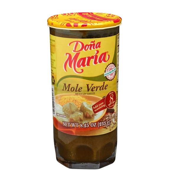 Picture of Dona Maria Mole Verde 8.25 oz. - Item No. 2522