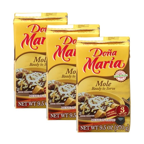Picture of Doa Maria Mole Ready to Serve 9.5 oz - 3 Servings&nbsp;- Item No.&nbsp;2527