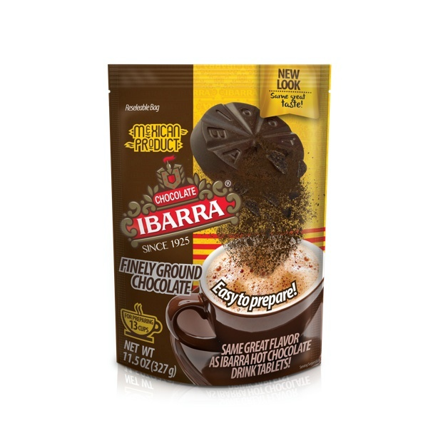Picture of Chocolate Ibarra Finely Ground Cocoa Instant Mix 14 oz&nbsp;- Item No.&nbsp;2542