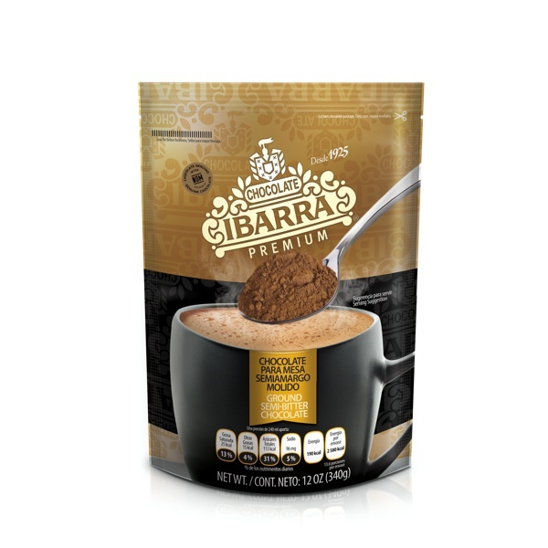 Picture of Ibarra Premium Mexican Chocolate Semi Dark Finely Ground - Item No. 2545