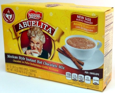 Picture of Mexican Chocolate - Abuelita Chocolate Drink Mix - 8 Envelopes by Nestle- Item No.2552