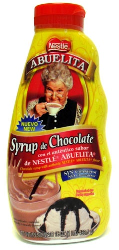 Picture of Abuelita Chocolate Syrup 16 oz by Nestle - Item No. 2558