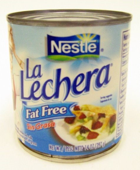 Picture of La Lechera Fat Free Milk by Nestle 14.1 oz - Item No. 2564
