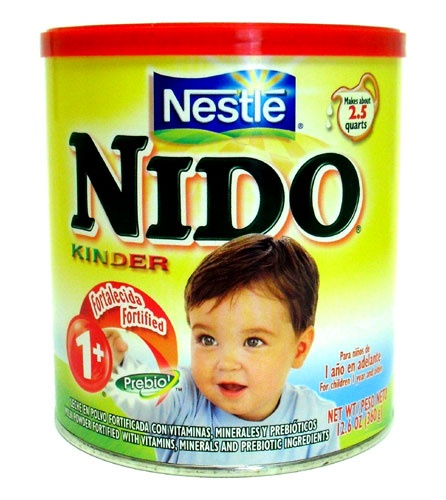 Picture of Nido Kinder Milk by Nestle 360 g - 12.6 oz&nbsp;- Item No.&nbsp;2574