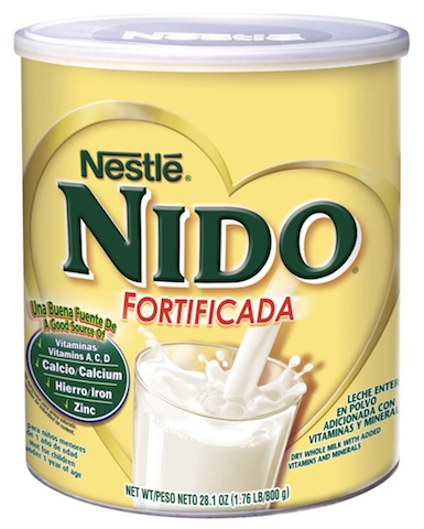 Picture of Nestle Nido Instant Whole Powder Milk 12.6 oz (360 g)&nbsp;- Item No.&nbsp;2575