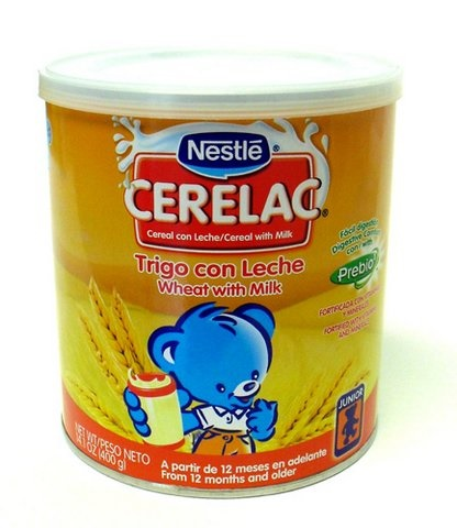 Picture of Cerelac - Nestle Cerelac Trigo con Leche 14.1 oz&nbsp;- Item No.&nbsp;2578