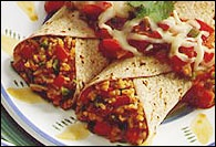 Picture of Easy Enchiladas Mexican Recipe - Item No. 26-easy-enchiladas