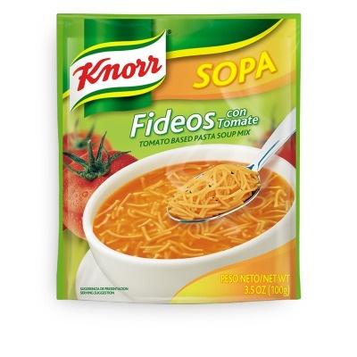 Picture of Knorr Tomato - Fideos Pasta Soup 3.5 oz. - Item No. 2600