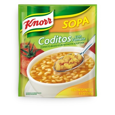 Picture of Knorr Pasta Elbows Soup 3.5 oz.- Item No.2601